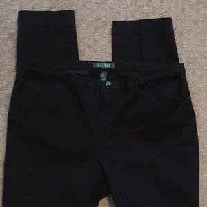 Ralph Lauren black skinny pants 12